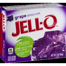 Photo of Jell-O Gelatin Dessert Grape