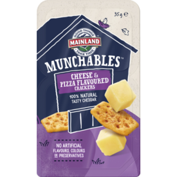 Photo of Mainland Munchables Cheese & Pizza Flavoured Crackers 35 G