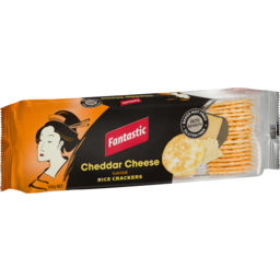 Photo of Fantastic Rice Crackers Cheddar Cheese 100g