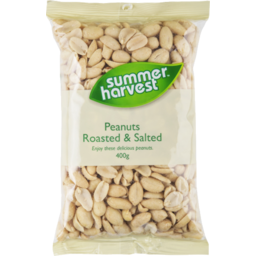 Photo of Summer Harvest Roasted & Salted Peanuts 400g