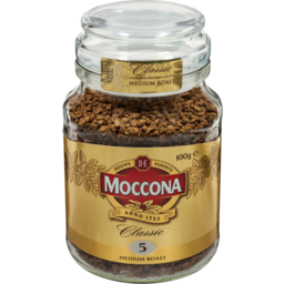 Photo of Moccona Freeze Dried Instant Coffee Classic Medium Roast 100g