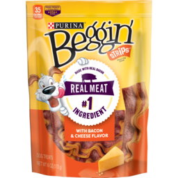 Photo of Beggin' Strips Dog Snack Bacon & Cheese Flavors