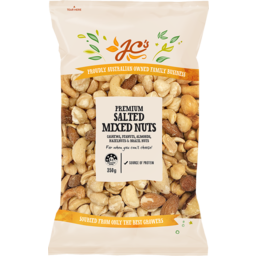 Photo of JC's Premium Mixed Nuts Salted 350g