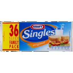Photo of Kraft Cheese Singles Original 36pk 648gm