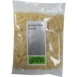 Photo of The Market Grocer Almonds Flaked 100gm