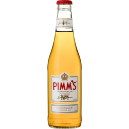 Photo of Pimms Lemonade & Ginger Ale Bottles