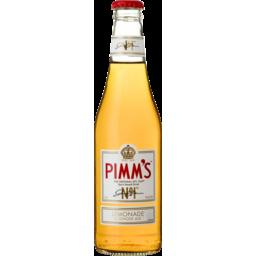 Photo of Pimms Lemonade & Ginger Ale Bottles