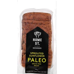 Photo of Home St Bread Paleo Sprouted Sunflower 470g