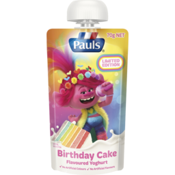 Photo of Pauls Birthday Cake Flavoured Yoghurt 70g
