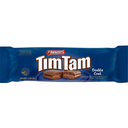Photo of Arnotts Tim Tam Double Coat Chocolate Biscuits 200g