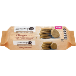 Photo of Community Co. Gluten Free Gingernuts 180g