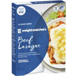 Photo of Weight Watchers Beef Lasagne 98% Fat Free 370g