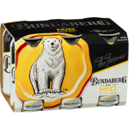 Photo of Bundaberg UP Rum Mid & Cola Cans