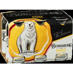 Photo of Bundaberg UP Rum Mid & Cola Cans
