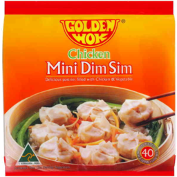 Photo of Golden Wok Chicken Mini Dim Sim 660g