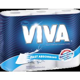 Photo of Viva White Paper Towel Multi Use 3pk