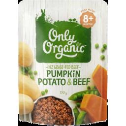 Photo of Only Organic Pumpkin Potato & Beef 170gm