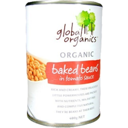 Photo of Global Organic Baked Beans 400gm