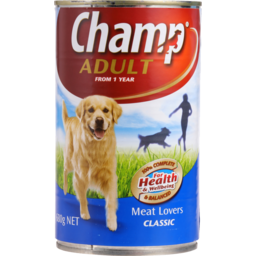 Photo of Champ Adult Dog Food Meat Lovers 680g