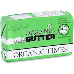 Photo of Organic Times Unsalted Butter