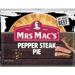 Photo of Mrs Mac's Pepper Steak Pie 175g