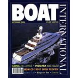 Photo of Boat International magazine