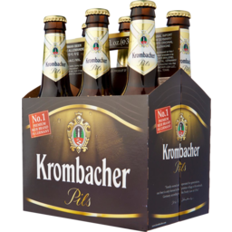 Photo of Krombacher Pilsner Bottles 330ml 6 Pack