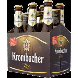 Photo of Krombacher Pilsner Bottles 330ml 6 Pack