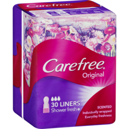 Photo of Carefree Original Liners Shower Fresh 30 Pack