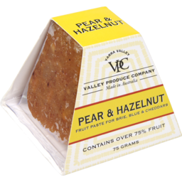 Photo of Valley Produce Company Pear & Hazelnut Fruit Paste 75g 75g