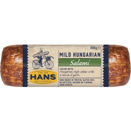 Photo of Hans Mild Hungarian Salami 200g