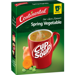 Photo of Continental Cup-A-Soup Spring Vegetable 4 Serves 60g