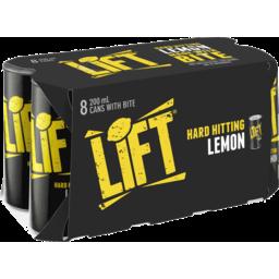 Photo of Lift Lemon Hard Hitting 8x200ml
