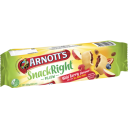Photo of Arnotts Snack Right Wild Berry Fruit Pillow 250g