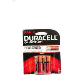 Photo of Duracell Battery Quantum Aaa