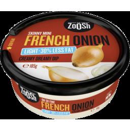 Photo of Zoosh Dip Lt French Onion 185gm