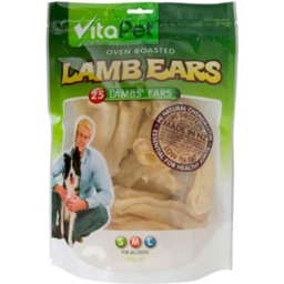 Photo of VitaPet For Dogs Lamb Ears 25 Pack