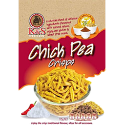 Photo of K&S Chick Pea Crisps 175g