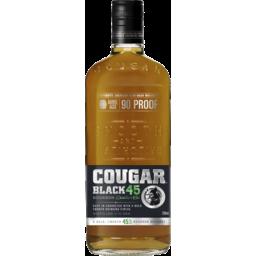 Photo of Cougar Bourbon Black 45 700ml