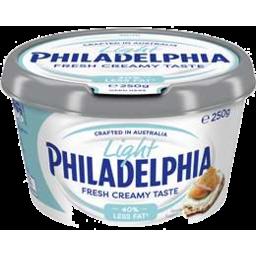 Photo of Philadelphia Light Cream Cheese Tub 250gm