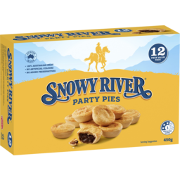 Photo of Snowy River Party Pies 12 Pack