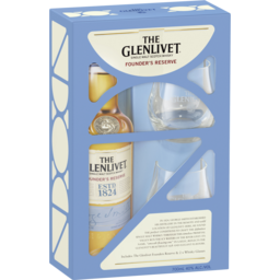 Photo of The Glenlivet Founders Reserve Scotch Whisky & Gla