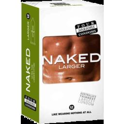 Photo of 4 Seas Naked Lge Condoms 12pk