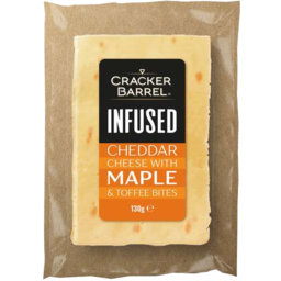 Photo of Cracker Barrel Infused Maple Cheese 130gm
