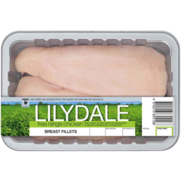 Photo of Lilydale Chicken Breast Fillets Skinless - approx 700gm