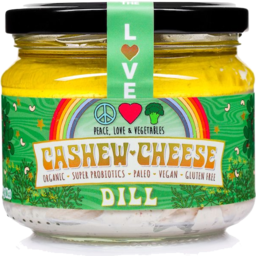 Photo of Peace Love & Vegetables Cheese - Cashew With Dill (Dairy Free)