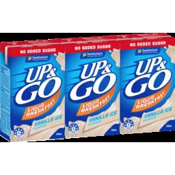 Photo of Up&Go No Added Sugar Vanilla Ice 3x250ml