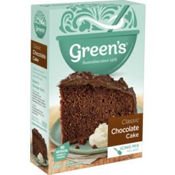 Photo of Greens Traditional Classic Chocolate Cake 440g
