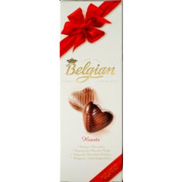 Photo of Belgian Chocolate Hearts 65g 65g