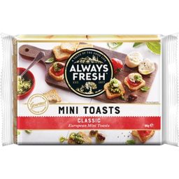 Photo of Always Fresh Mini Toast Classic 90g